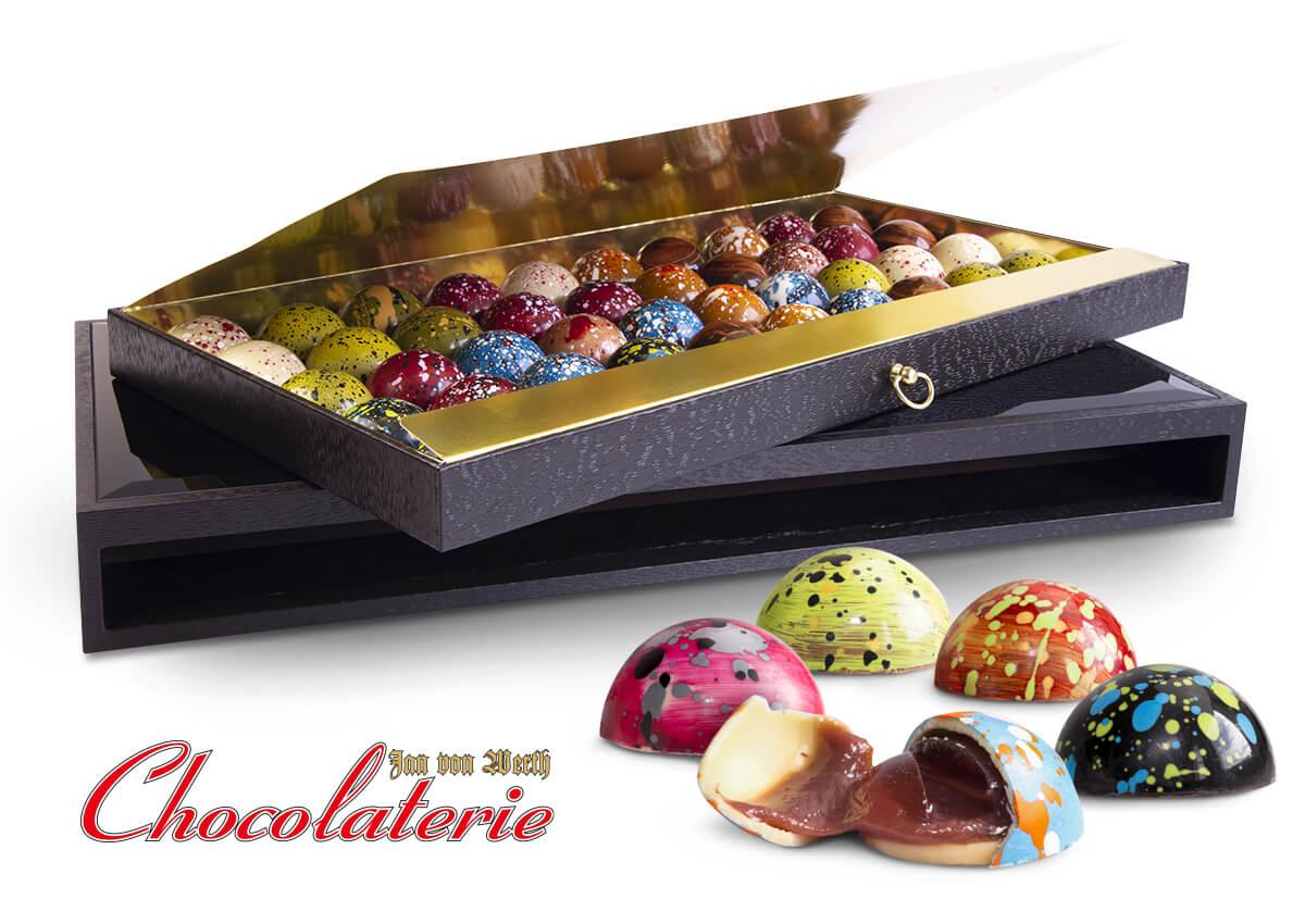Feinste Pralinen von der Chocolaterie Jan von Werth