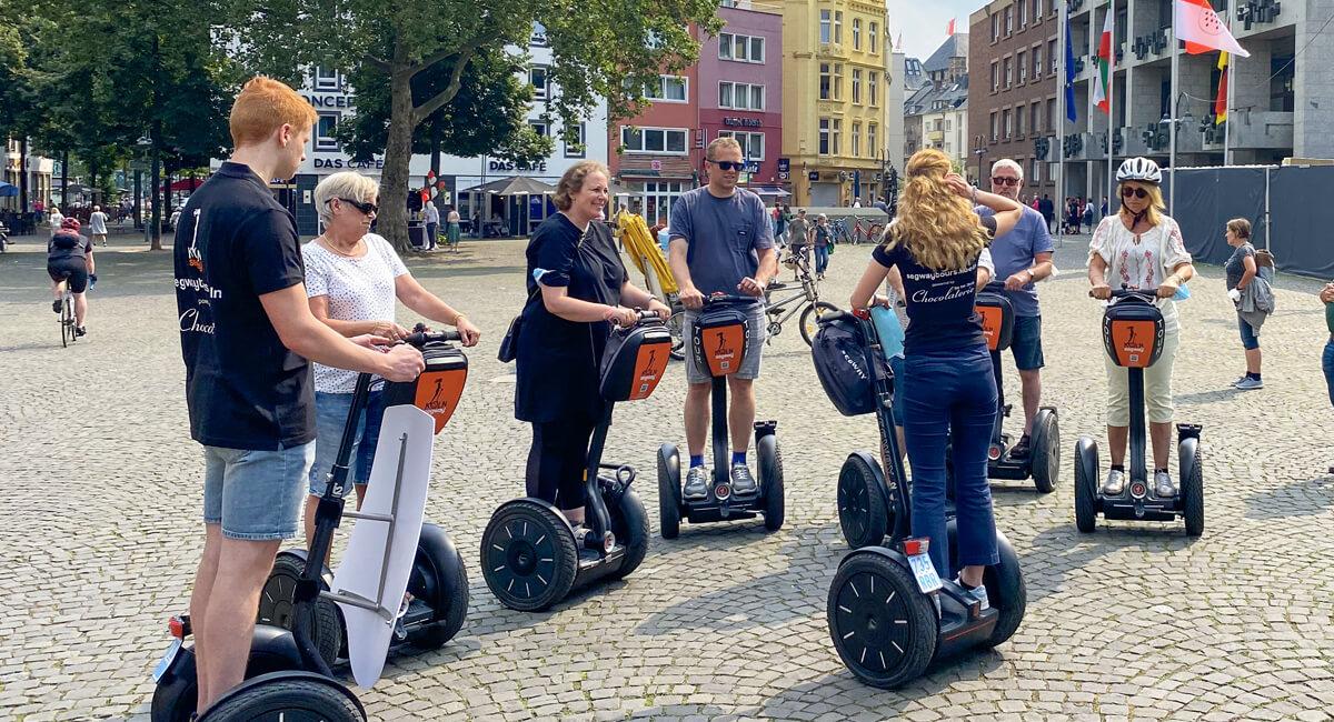 Gruppen-Touren auf dem Segway durch Köln