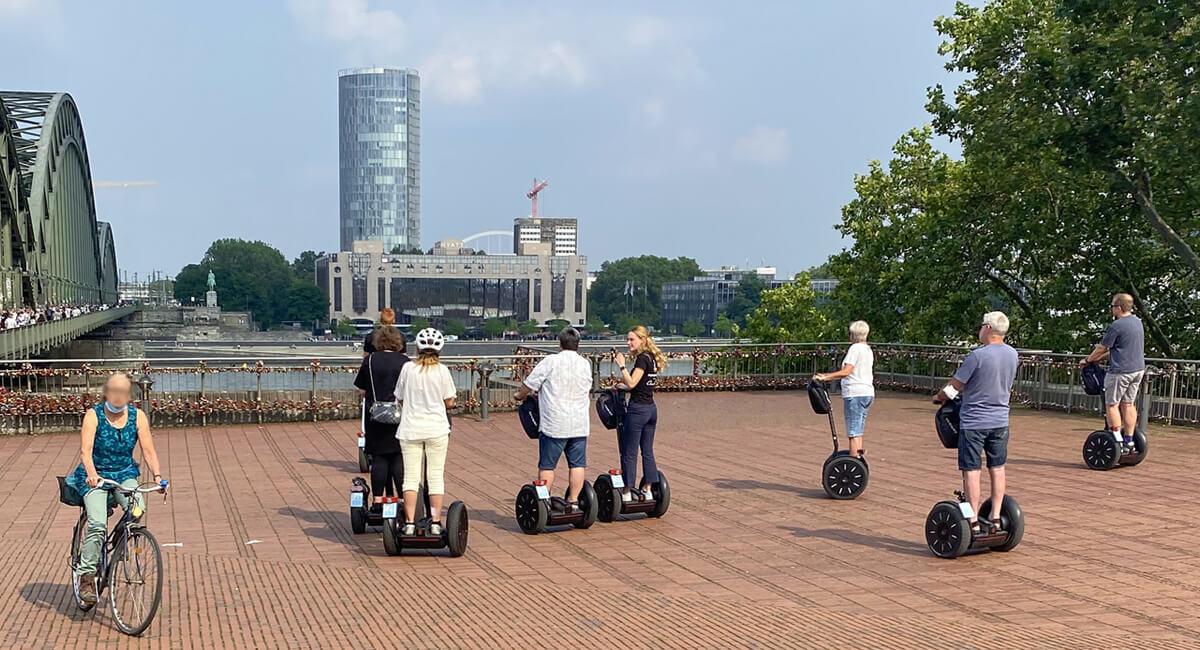 Stadtführung auf dem Segway durch Köln